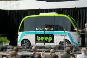 Lake Nona driverless bus