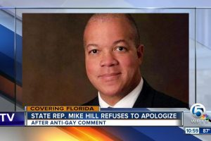 mike hill anti gay comment