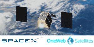 spacex oneweb satellites
