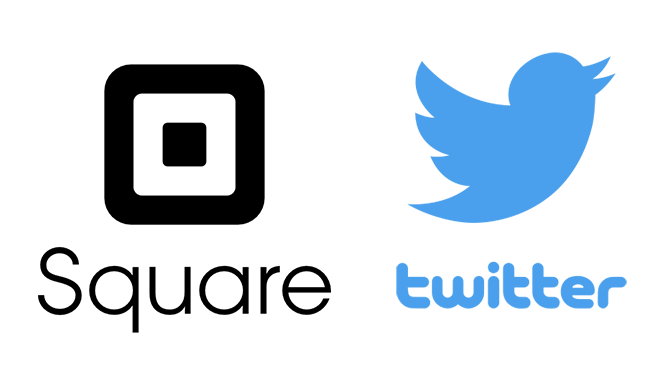 square and twitter